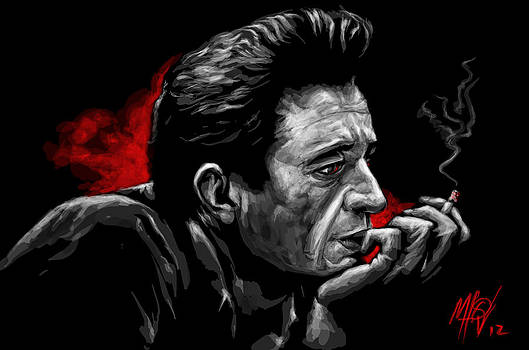 Johnny Cash by Miguel Osorio