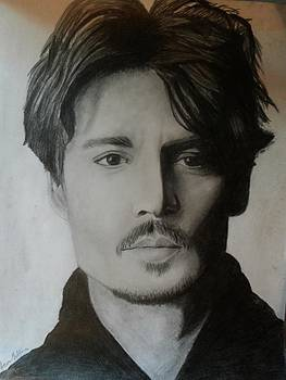Johnny Depp by Alicia Mullins