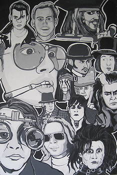 Johnny Depp Character Tribute by Gary Niles