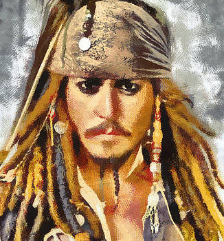 Johnny Depp Jack Sparrow by Georgi Dimitrov