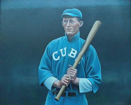 Johnny Evers by Mark Haley