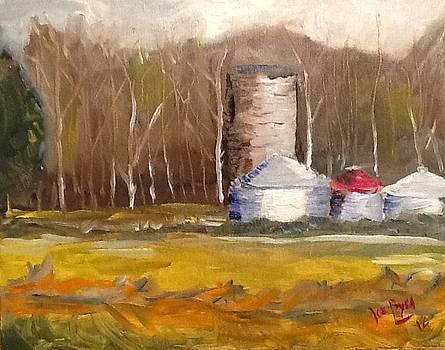 Johns Grain Bins by Joe Byrd
