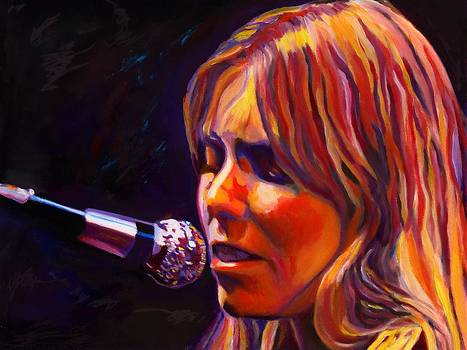 Joni Mitchell..legend by Vel Verrept