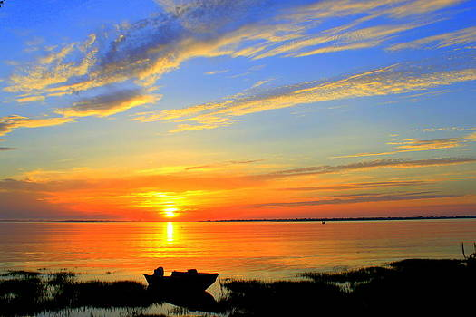 Joppa Flats Sunrise by Suzanne DeGeorge