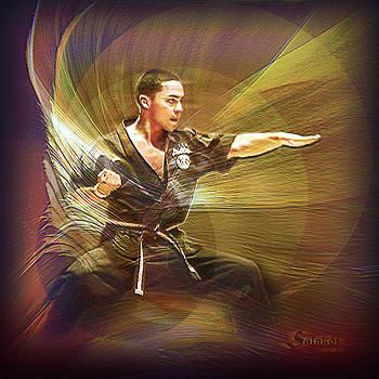 Jordan Ortiz Pallen Action Portrait by Salakot