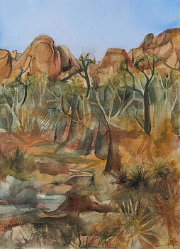 Joshua Ghost Trees by Lynne Bolwell
