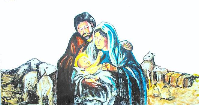 Josph Mary and Jesus by Todd Spaur