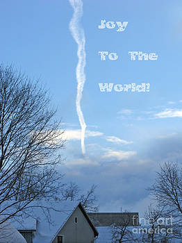 Joy To The World greeting card by Ausra Huntington nee Paulauskaite