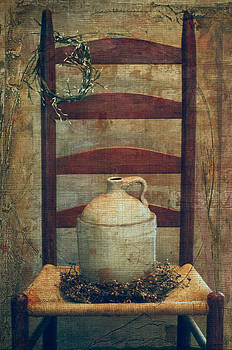Jug On The Chair by Kathy Jennings