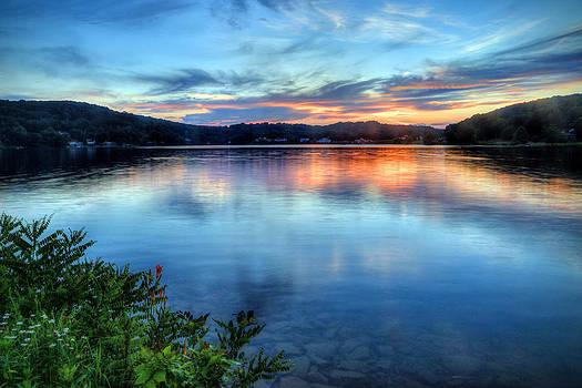 June sunset by Jaki Miller
