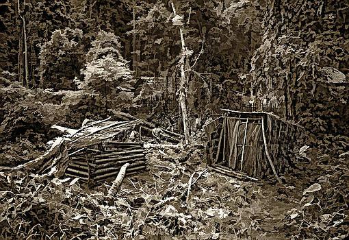 Steve Harrington - Jungle Homestead sepia