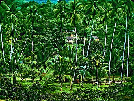 Steve Harrington - Jungle Life oil version