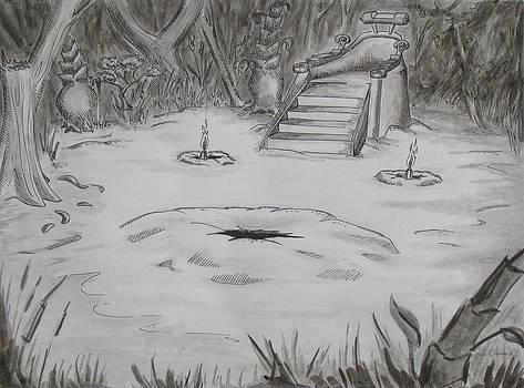 Jungle Throne by Jeffrey Oleniacz