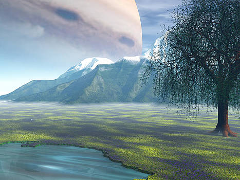 Jupiter Rising by Michele Wilson