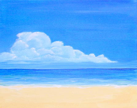 Just a Beach by Nancy Nuce