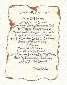 Just A Penny by Doug Miller