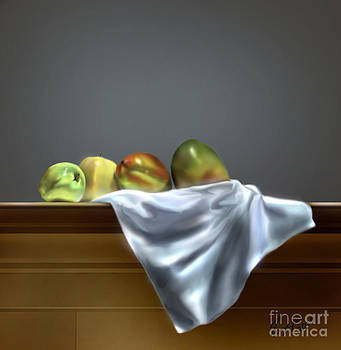 Just Apples and Mangos  by Reggie Duffie