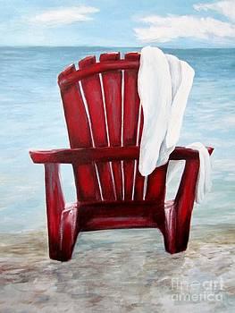 Just beachin' by Meagan  Visser