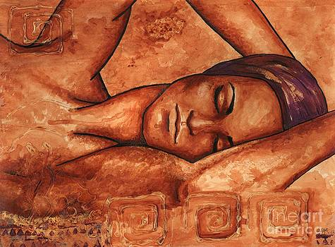 Just lay back and relax and . . .  by Alga Washington