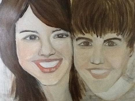 Justin and Salena by Corinne Mcdonald