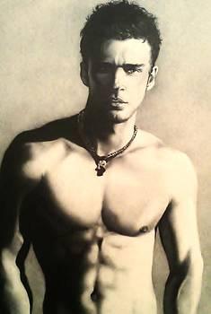 Justin Timberlake by Carl Baker