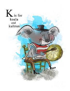 K is for Koala by Sean Hagan