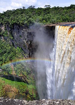 Kaieteur Falls by Chase Chisholm