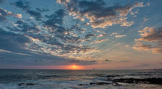 Kailua Bay Sunset by Kirk Shorte
