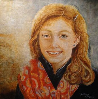 Kaitlyn's Scarf by Gudrun Hirsche