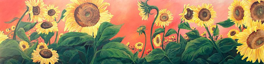 Kait's Sunflowers by Jessica Tookey