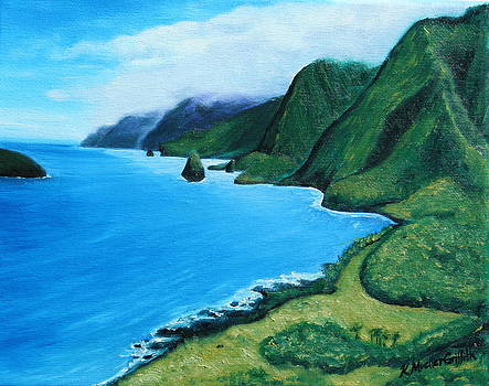 Kalaupapa Peninsula by Kristine Mueller Griffith