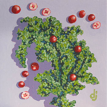 Kale and Cranberries by Dorothy Jenson