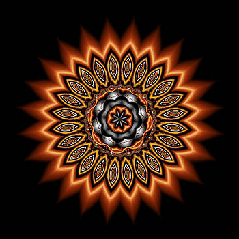 kaleidoscope 1 in Precious Metals by Faye Giblin