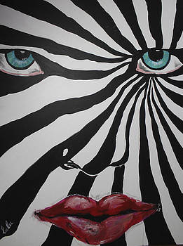 kaleidoscopic aka Kiss by Lucy Matta - Lulu