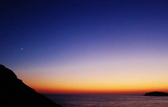 Kalymnos Greek skies by Catherine Davies