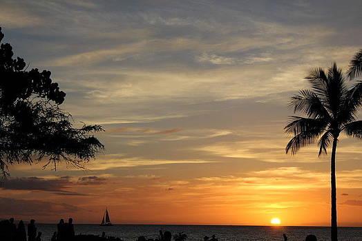 Kanapali Sunset by Max  Greene