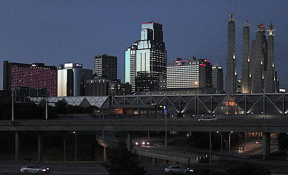 Kansas City at Dusk by Patricio Lazen