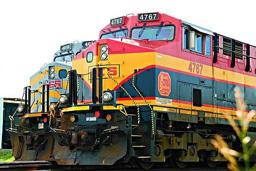 Kansas City Southern Line by  Renee McDaniel