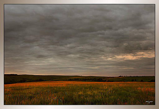 Kansas Sunrise by Thomas Bomstad