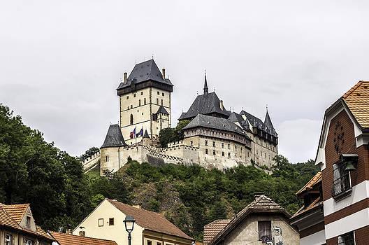 Karlstejn Castle. by Fernando Barozza