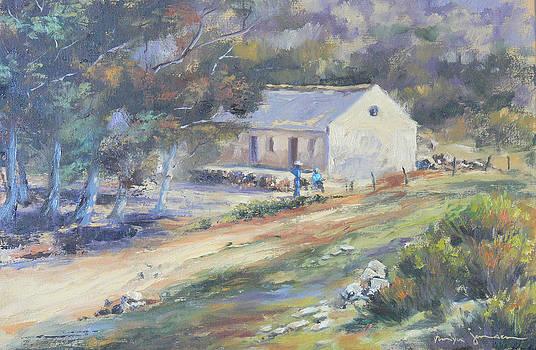 Karoo scene by Tanya Jansen