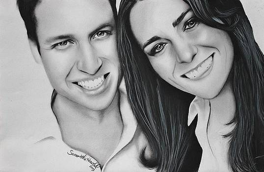 Kate and William by Samantha Howell