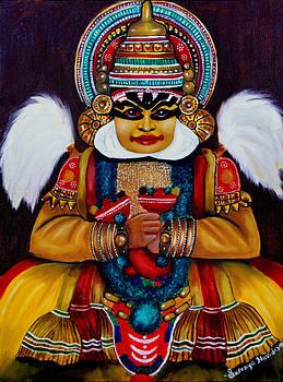 kathakali.. Lord Shiva by Saranya Haridasan
