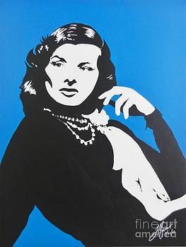 Katharine Hepburn  by Juan Molina