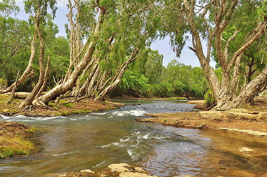 Katherine River by Terry Everson