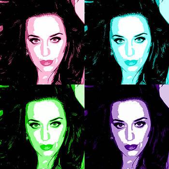 Katy Perry Warhol by GBS by Anibal Diaz