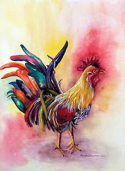Kauai's Rooster by Pamela Shearer