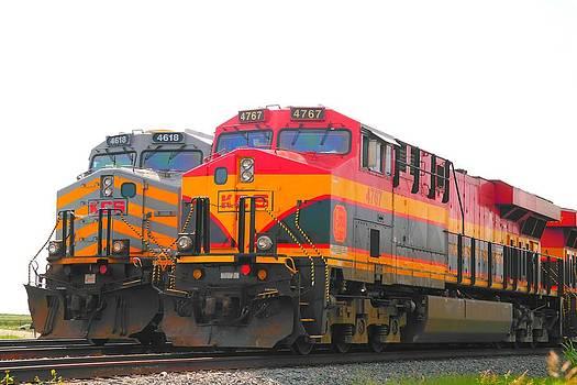 K C S Trains by  Renee McDaniel