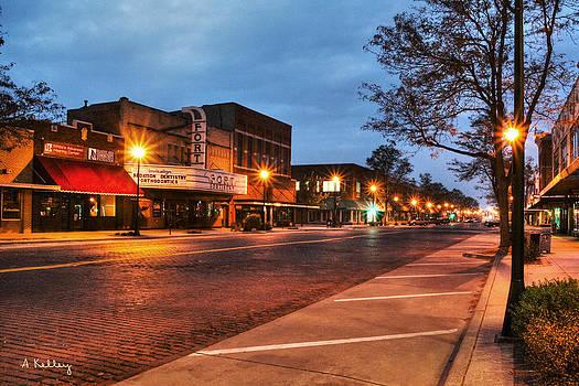 Kearney Nebraska at Dawn by Andrea Kelley