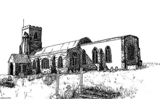 Kedington Church by Shirley Miller